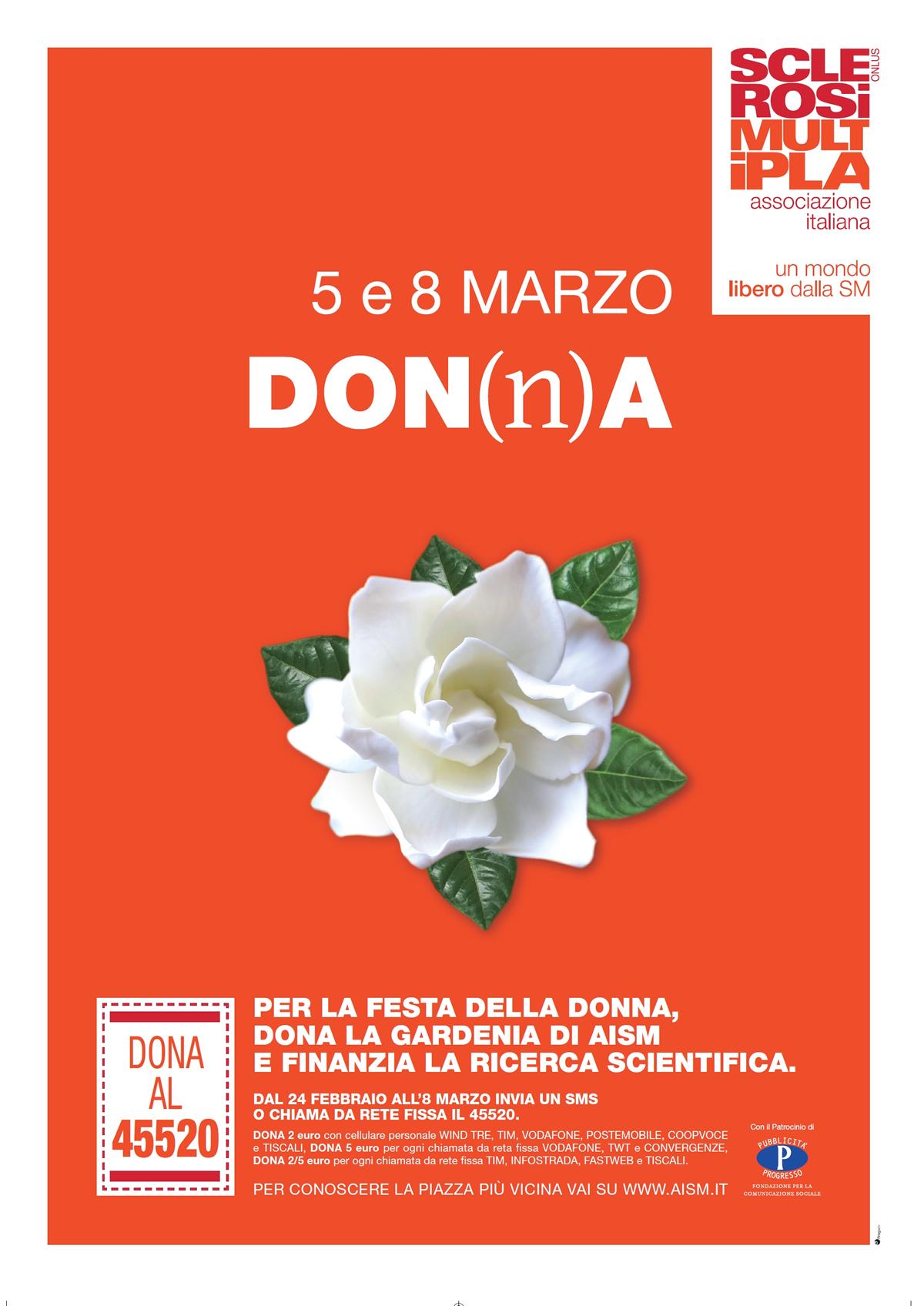Domenica 5 e mercoledì 8 marzo torna La Gardenia di AISM