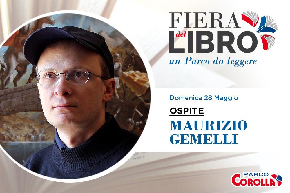 Maurizio Gemelli alla Fiera del Libro