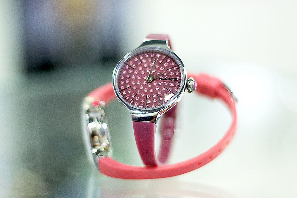 Hoops, l'orologio che stupisce!