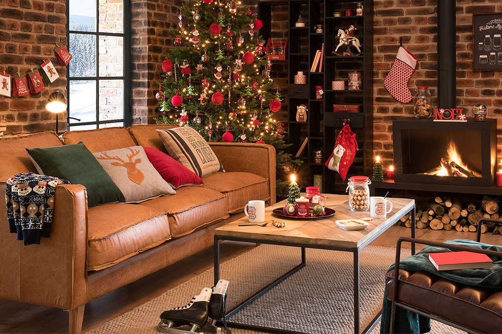 Sei mosse per decorare l'albero di Natale