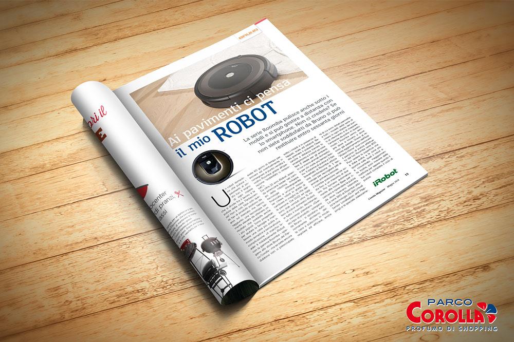 Ai pavimenti ci pensa il mio robot