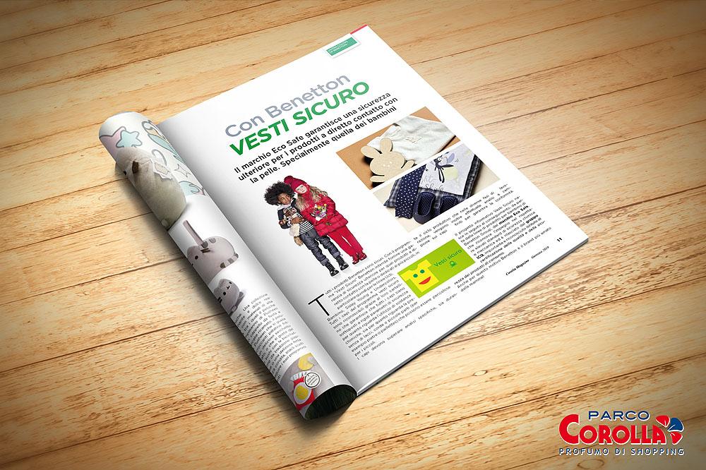 """Con Benetton """"Vesti sicuro"""""""