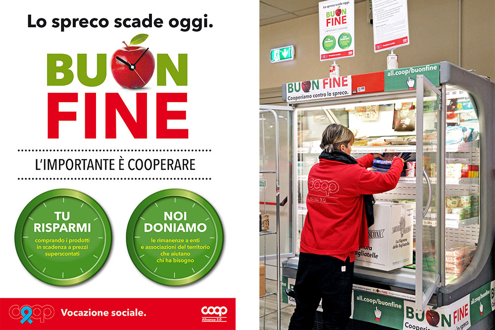 Ipercoop dice 'no' allo spreco