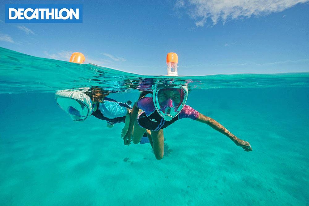 Snorkeling? Un gioco da bambini