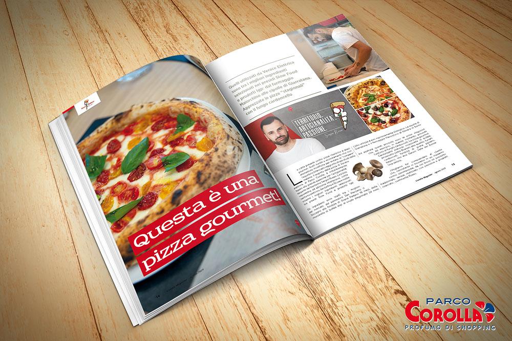 Questa è una pizza gourmet!