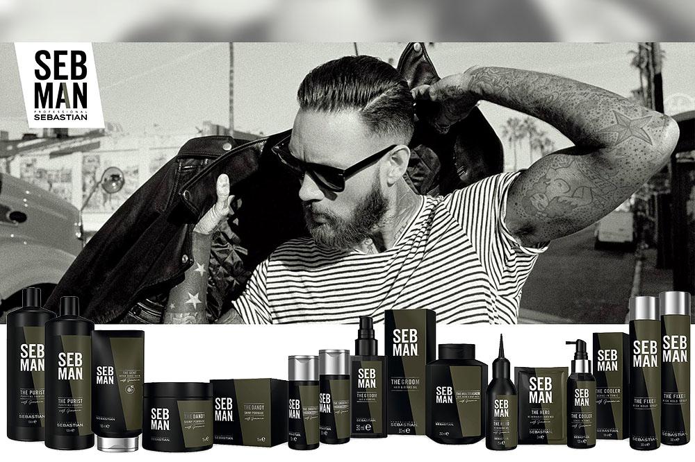 Sebman, styling e barba dalle mille sfaccettature