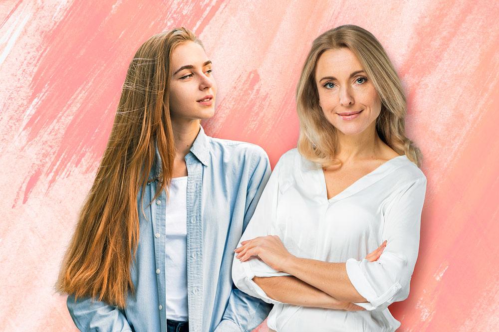 Mamma e figlia mettono… la testa a posto