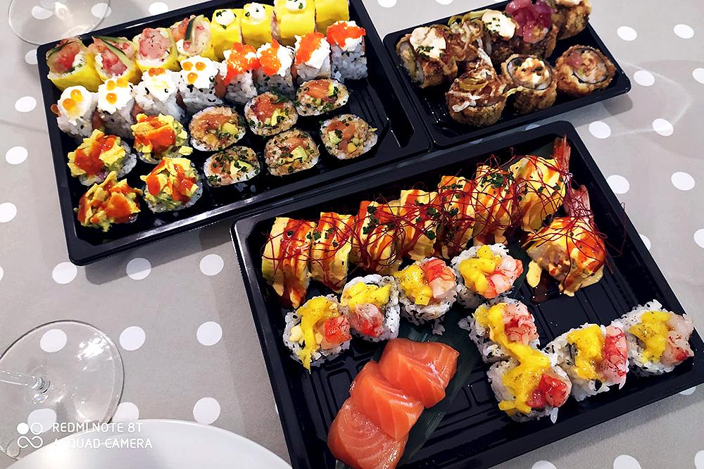 Sushi, voliamo con la fantasia