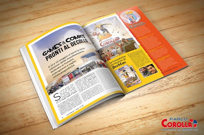 Corolla Games & Comics, pronti al decollo