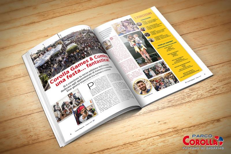 Corolla Games & Comics, una festa… fantastica!