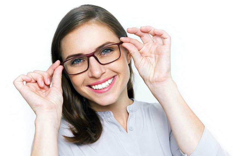 La pulizia degli occhiali