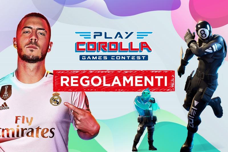 Play Corolla - Regolamenti Tornei