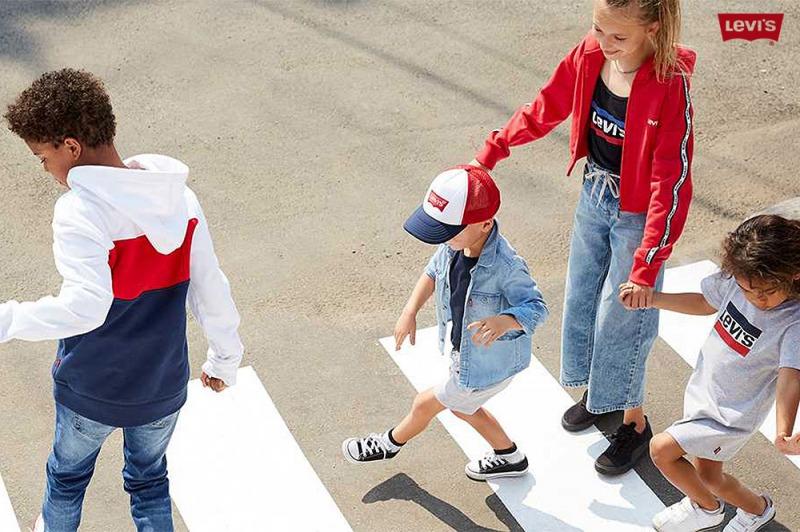 Levi's Kids: stile e libertà anche per i più piccoli