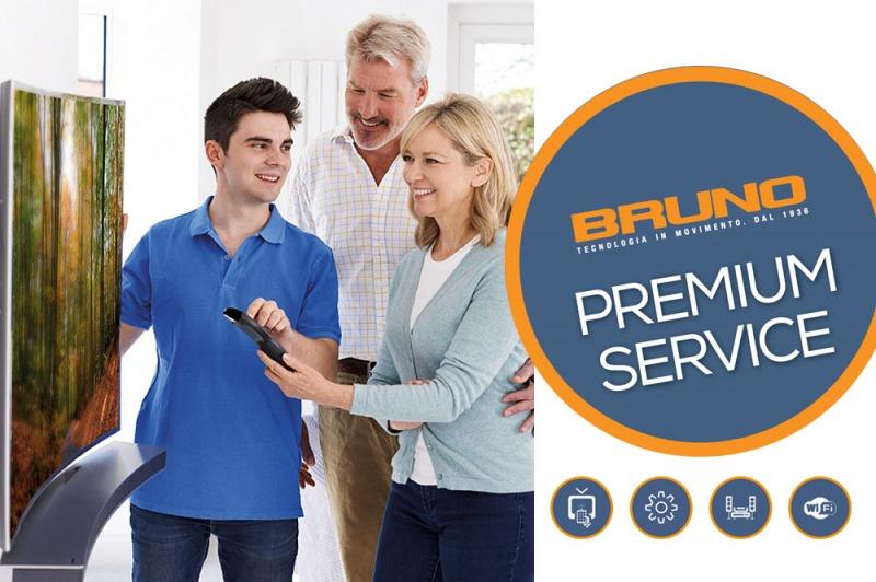 Bruno, servizi sempre più Premium