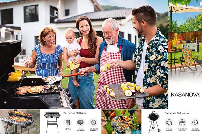 Barbecue in giardino: le idee per creare un angolo perfetto